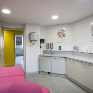 Dermaworks treatment room