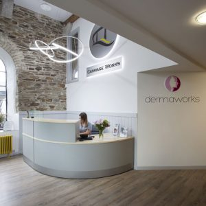 Dermaworks reception