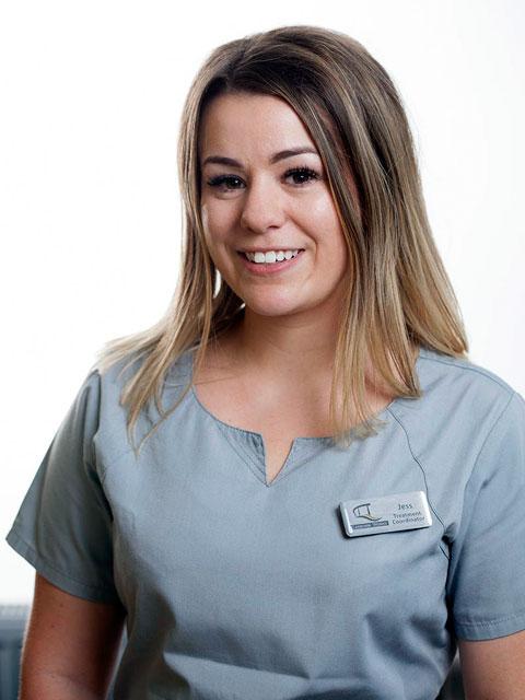 Jess Sweeney, Treatment Co-ordinator