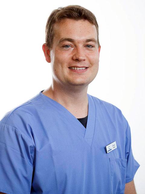 Chris Yelland, Past foundation dentist : 2016-2017