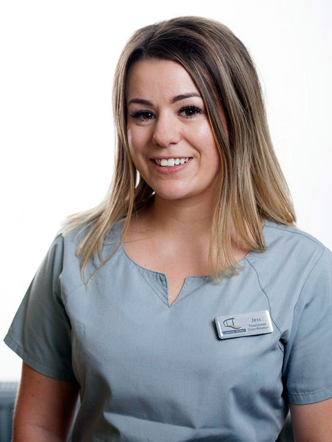 Jess Sweeney, Treatment Co-ordinator/Assistant Manager