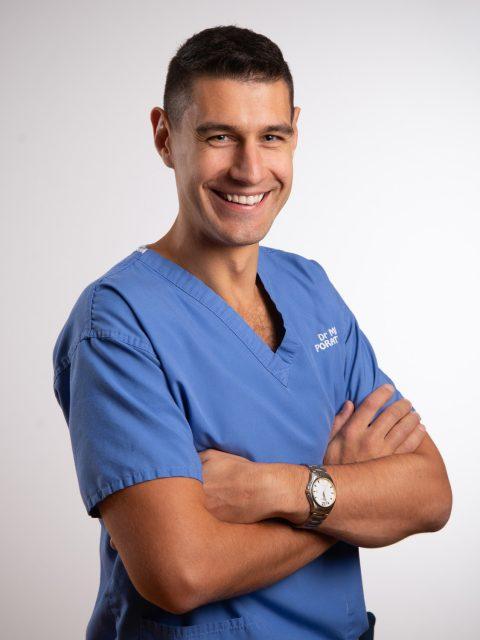 Miklos Poratunszky, Dentist